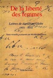 De La Liberte Des Femmes - Couverture - Format classique