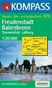 Freudenstadt Baiersbronn ; Simmersfeld, Lossburg, Alpirsbach - Couverture - Format classique
