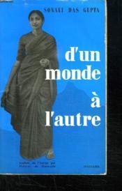 D Un Monde A L Autre. - Couverture - Format classique