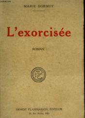 L'Exorcisee. - Couverture - Format classique