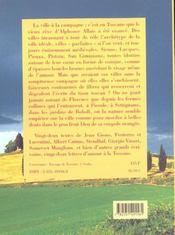 Histoires De Toscane - 4ème de couverture - Format classique