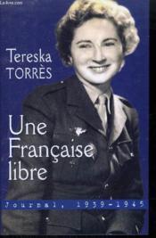 Une Française libre - Couverture - Format classique