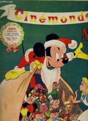 CINEMONDE - 19e ANNEE - Numéro spécial Noël - ALICE AU PAYS DES MERVEILLES de Walt Disney - Couverture - Format classique
