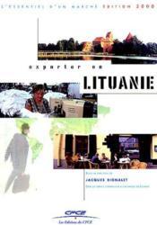 Exporter En Lituanie - Couverture - Format classique