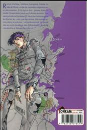 Rohan Kishibe T.1 - 4ème de couverture - Format classique