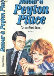 Retour A Peyton Place - Couverture - Format classique