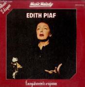 Disque Vinyle 33tedith Piaf Enregistrements Originaux-Album 2 Disques - Couverture - Format classique