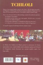 Tchiloli, Charlemagne à São Tomé sur l'île du milieu du monde - 4ème de couverture - Format classique