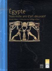 Égypte ; 3000 ans d'art décoratif - Intérieur - Format classique