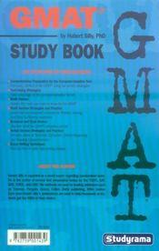 GMAT study book - 4ème de couverture - Format classique