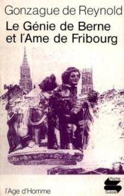 Genie De Berne Ame De Fribourg Ps110 - Couverture - Format classique
