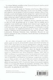 Genèse de la pensée moderne - 4ème de couverture - Format classique