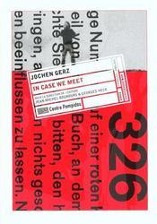 Jochen gerz (francais-anglais) - Intérieur - Format classique
