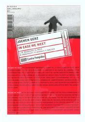 Jochen gerz (francais-anglais) - 4ème de couverture - Format classique