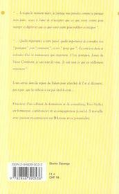Louis du vieux continent - 4ème de couverture - Format classique