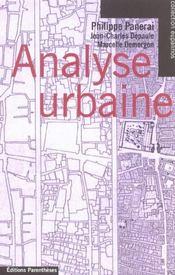 Analyse urbaine - Intérieur - Format classique