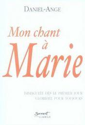 Mon chant à marie - Intérieur - Format classique
