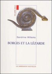 Borges et la lézarde - Couverture - Format classique