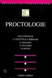Proctologie - Couverture - Format classique