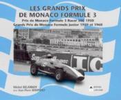 Grand prix de monaco formule 3 1950 - Couverture - Format classique