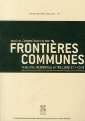 Frontières communes - Couverture - Format classique