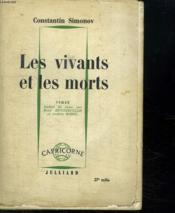 Les Vivants Et Les Morts . - Couverture - Format classique