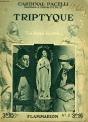 Triptyque. Collection : Les Bonnes Lectures. - Couverture - Format classique