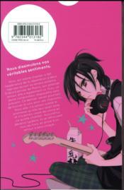Masked noise t.1 - 4ème de couverture - Format classique