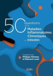 50 questions sur les maladies inflammatoires chroniques de l'intestin (MICI) - Couverture - Format classique