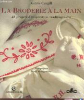 Broderie A La Main - Couverture - Format classique
