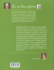 Futur Empereur Napoleon (Le) - 4ème de couverture - Format classique