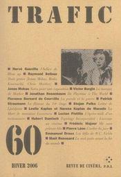 Revue Trafic N.60 - Intérieur - Format classique