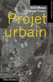 Projet urbain - Couverture - Format classique