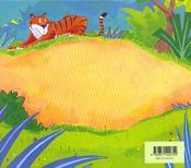 Attends-moi petit tigre - 4ème de couverture - Format classique