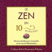 Le zen en 10 minutes - Couverture - Format classique