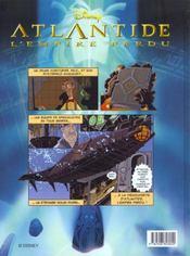 Atlantide, L'Empire Perdu - 4ème de couverture - Format classique