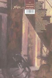 Derniere Cigarette (La) - 4ème de couverture - Format classique
