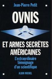 Ovnis et armes secretes americaines - Couverture - Format classique