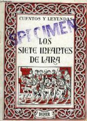 Los Siete Infantes De Lara - Couverture - Format classique