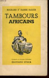 Tambours Africains - Couverture - Format classique
