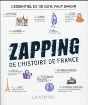 Le grand zapping de l'histoire de France - Couverture - Format classique
