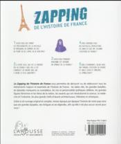 Le grand zapping de l'histoire de France - 4ème de couverture - Format classique
