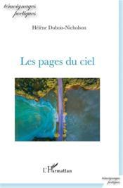 Les pages du ciel - Couverture - Format classique