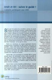 Droit et rh : suivez le guide t.2 ; les grands classiques - 4ème de couverture - Format classique