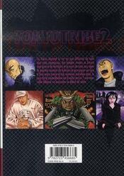 Tokyo tribe 2 t.2 - 4ème de couverture - Format classique