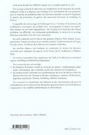 Aide A La Decision Une Approche Par Les Cas Gestion Mathematiques Informatique 2e Edition - 4ème de couverture - Format classique