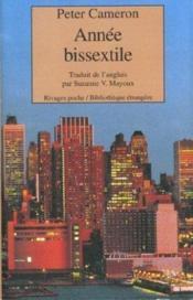 Annee Bissextile - Couverture - Format classique