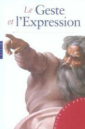 Le geste et l'expression - Intérieur - Format classique