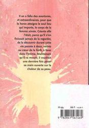 Le corps en miettes - 4ème de couverture - Format classique