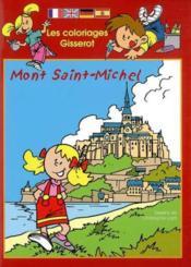 Les Coloriages Gisserot Du Mont St Michel - Couverture - Format classique